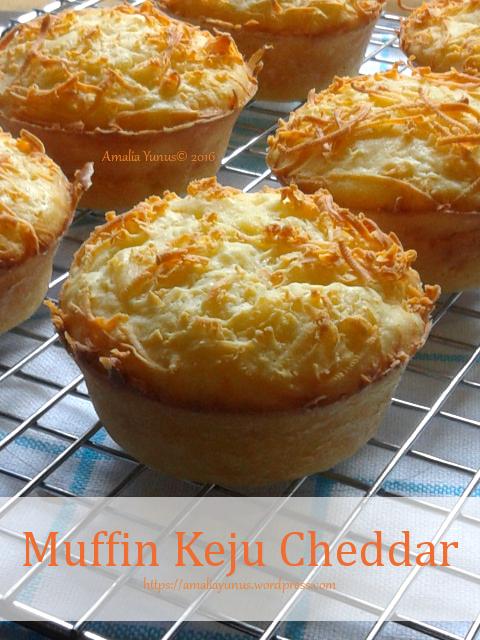 Muffin Keju Cheddar Keju Cheddar Kue Lezat Resep Biskuit