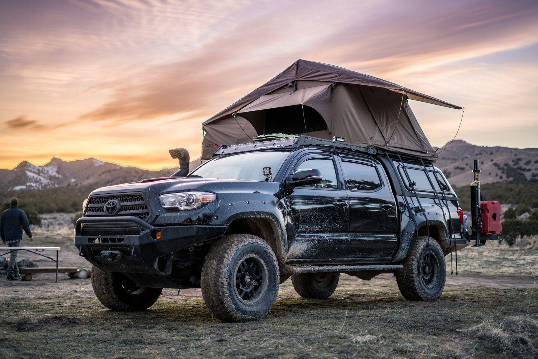 Toyota Tacoma With Rooftop Tent Toyota Tacoma Tacoma Truck Tacoma Tent