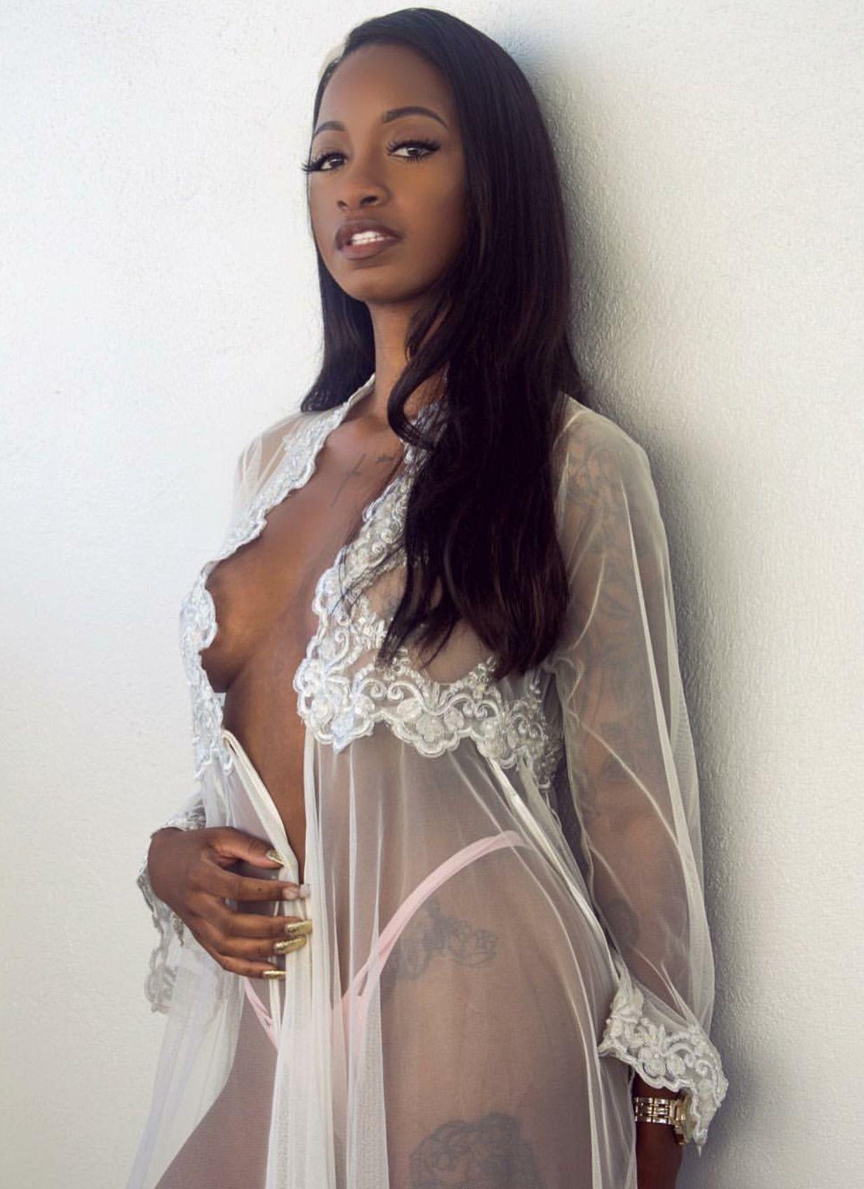 Ebony bare