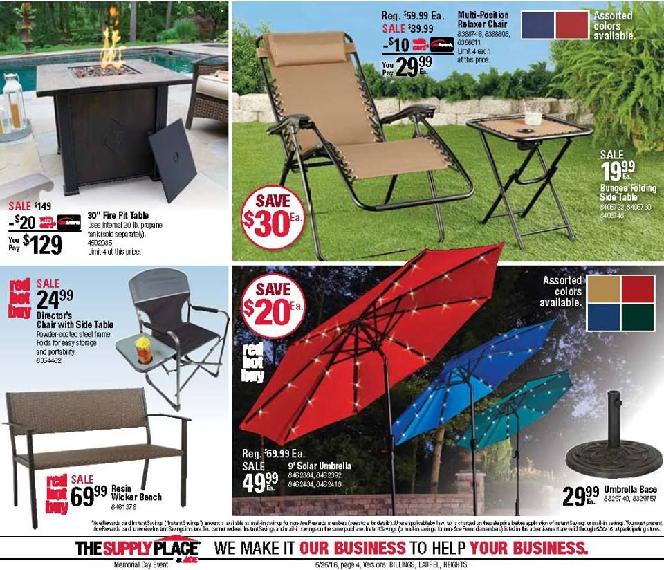 Pin by King's Ace Hardware on Flyers/Promotions   Fire pit ... on Ace Hardware Fire Pit id=86523