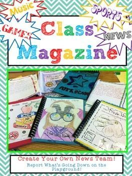 how to write an magazine editorial for primary kids