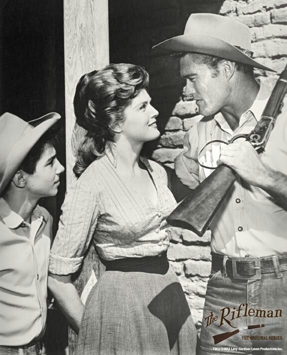 Johnny Crawford Patricia Blair Chuck Connors Rifleman Season 5 Johnny Crawford Chuck Connors The Rifleman
