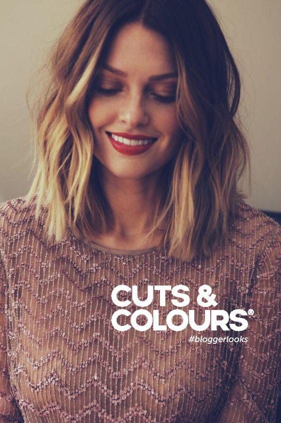 Balayage | halflang haar | CUTS & COLOURS … | Pinteres…