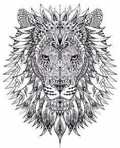 Ausmalbilder Tiere Lowe Tattos Ausmalen Ausmalbilder Und