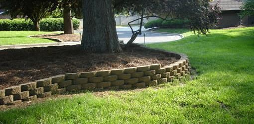 Brick Tree Surround Landscaping Retaining Walls Landscaping Around Trees Landscaping Blocks