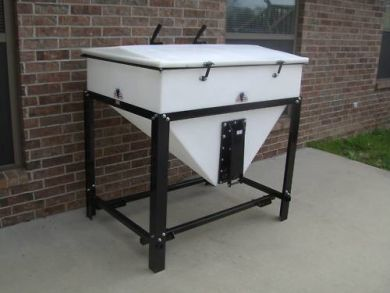 Feed storage bin & Feed storage bin | Homestead Equipment | Pinterest | Horse stalls ...
