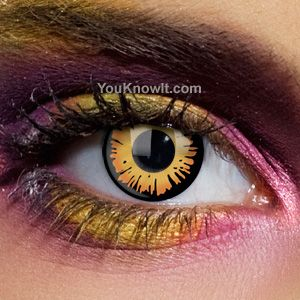 Freaky Twilight Contact Lenses (Prescription) & Freaky Twilight Contact Lenses (Prescription) | Costume making ...