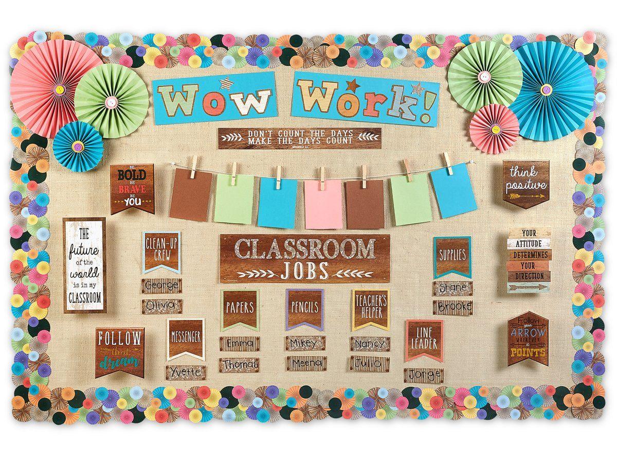 Home Sweet Classroom Fan Border