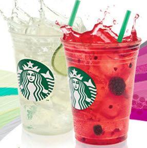 Starbucks cool lime refresher - yummy!
