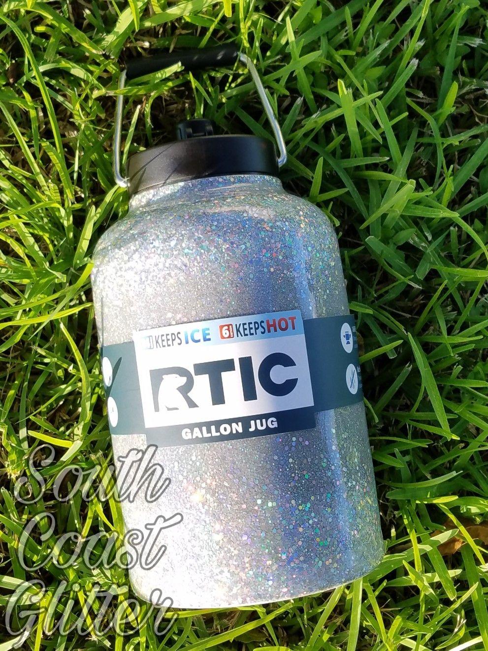 Glitter Rtic Gallon Jug Rtic Gallon Glitter Cups