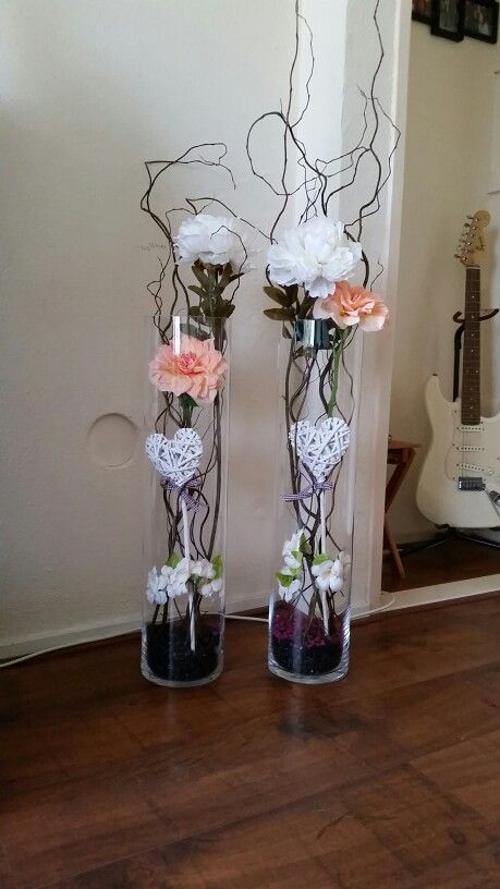 My Own Creation Mit Bildern Glasvasen Dekorieren Bodenvase