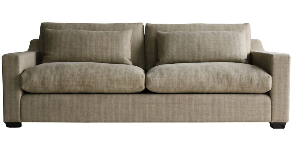 Belgian Wide Arm Back Pillow Furniture Cushions