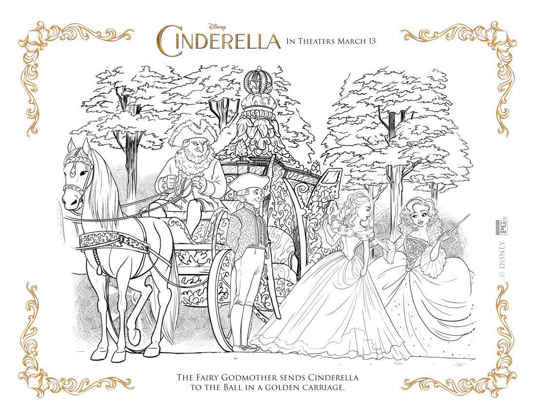 My Take On Cinderella Cinderella Coloring Pages Coloring Pages Cartoon Coloring Pages