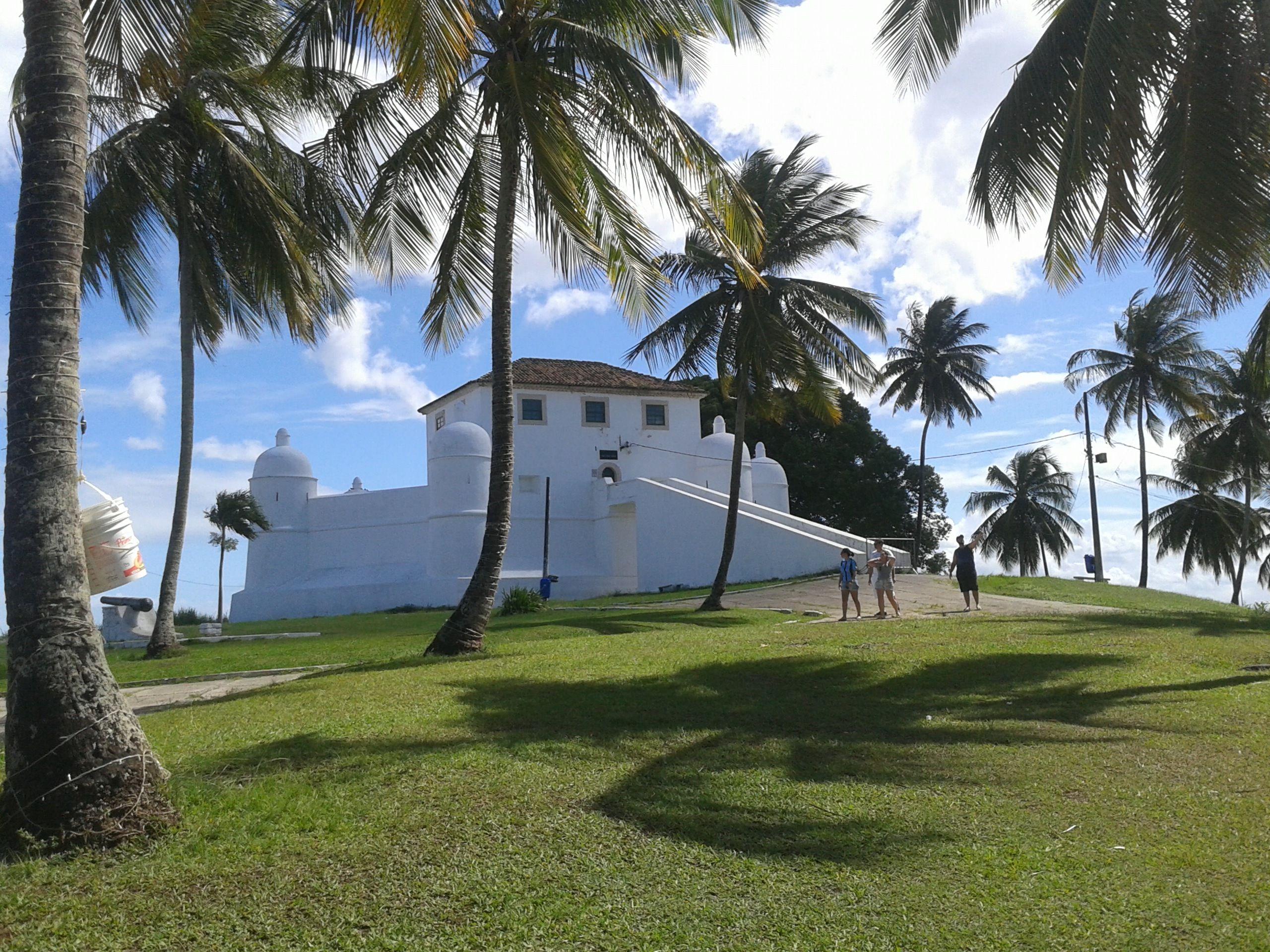 Forte Monte Serrat Salvador Bahia Brasil Salvador Viagens