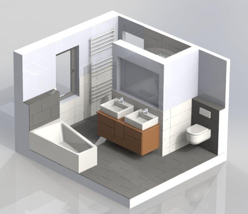 Einmal Eigenheim Bitte Vorbereitung Auf Die Hauptbemusterung Und Badezimmerplanung Duschbadewanne Schworer Haus Weisse Fliesen