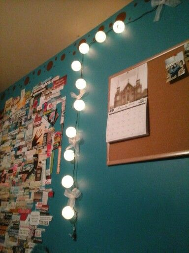 10 bucks at target decorate your room with lights:) | For my Cavern ...
