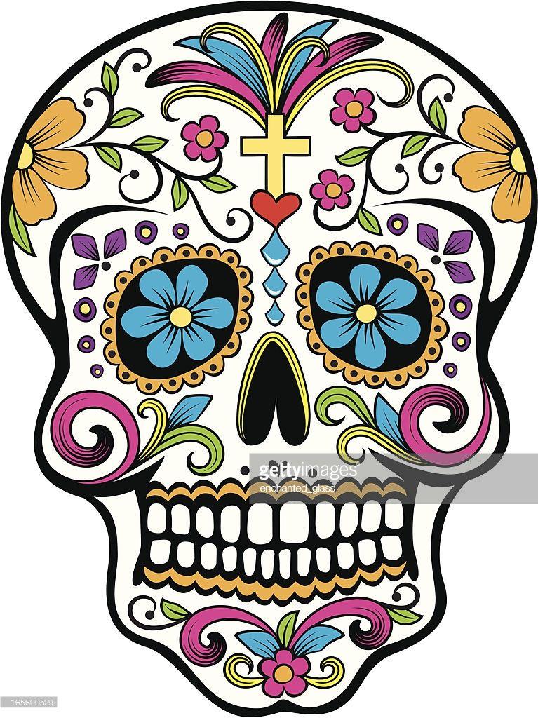 Day of the Dead celebration Sugar Skull sugar skulls