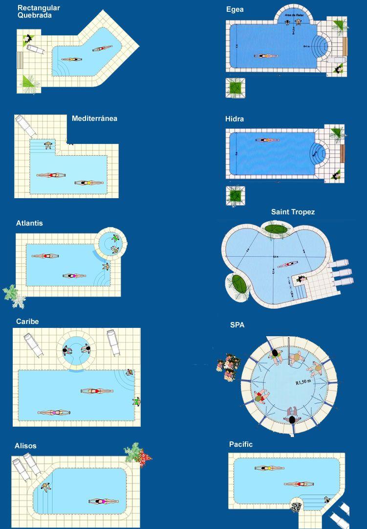 piscinas buenos aires - modelos de piscinas, diseños especiales de