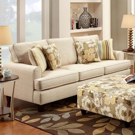 Devon Park Stationary Sofa Boscov S Ivory Living Room
