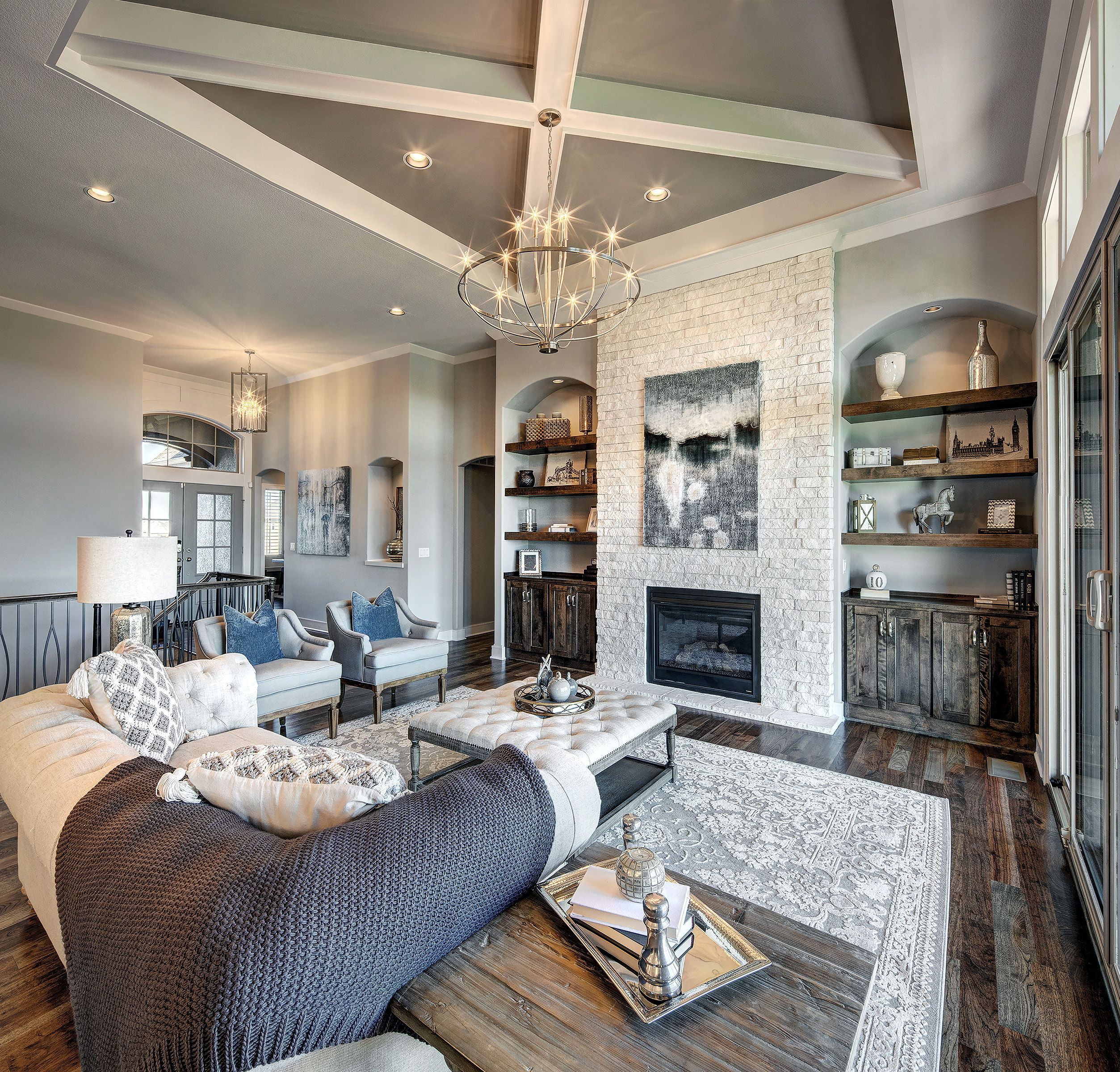 Jefferson Ex With Images Model Homes Home Great Rooms