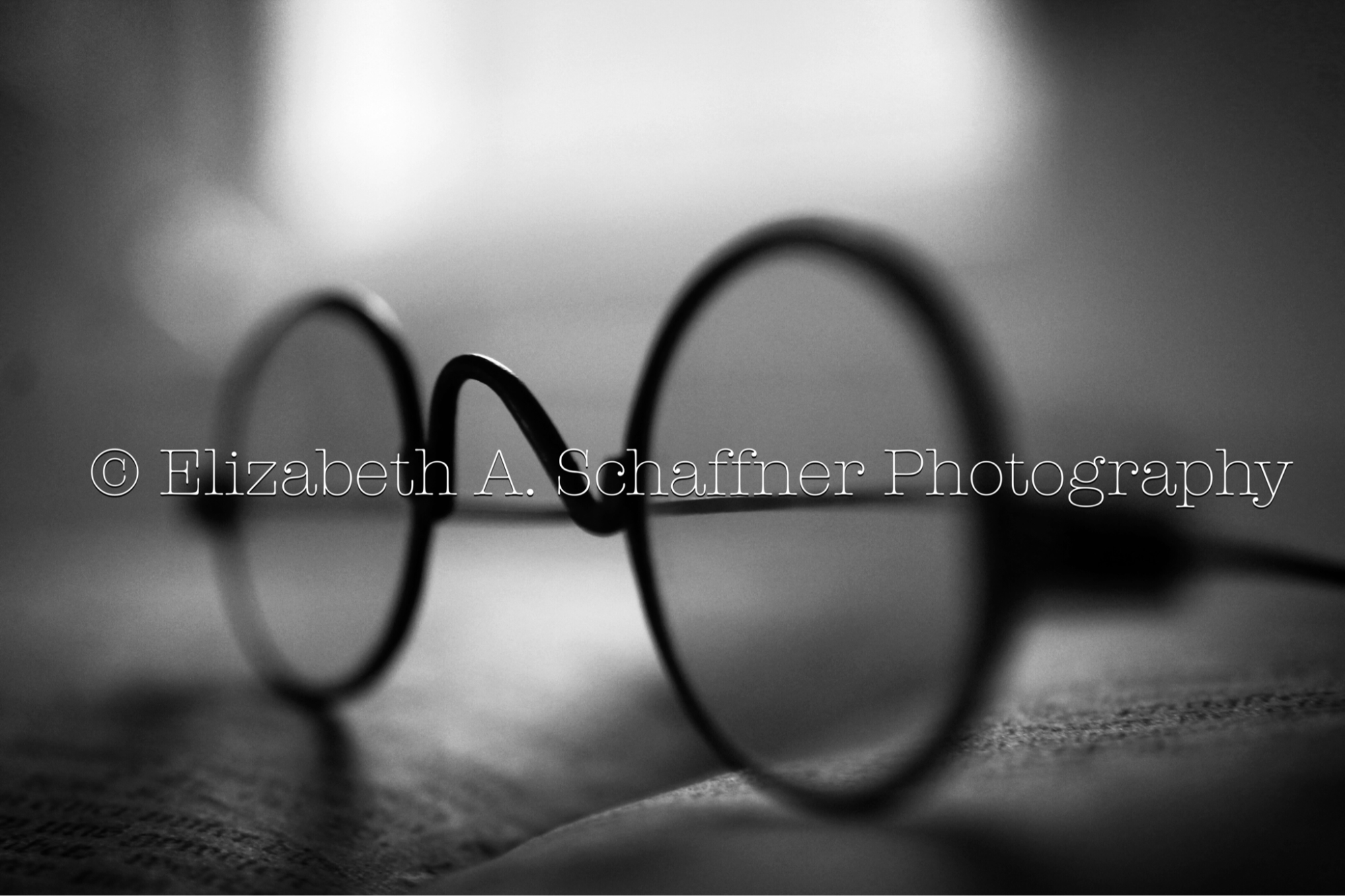 Elizabeth A. Schaffner Photography #Still #Life #Photography #BlackandWhite #White #Black #Glasses #Antiques