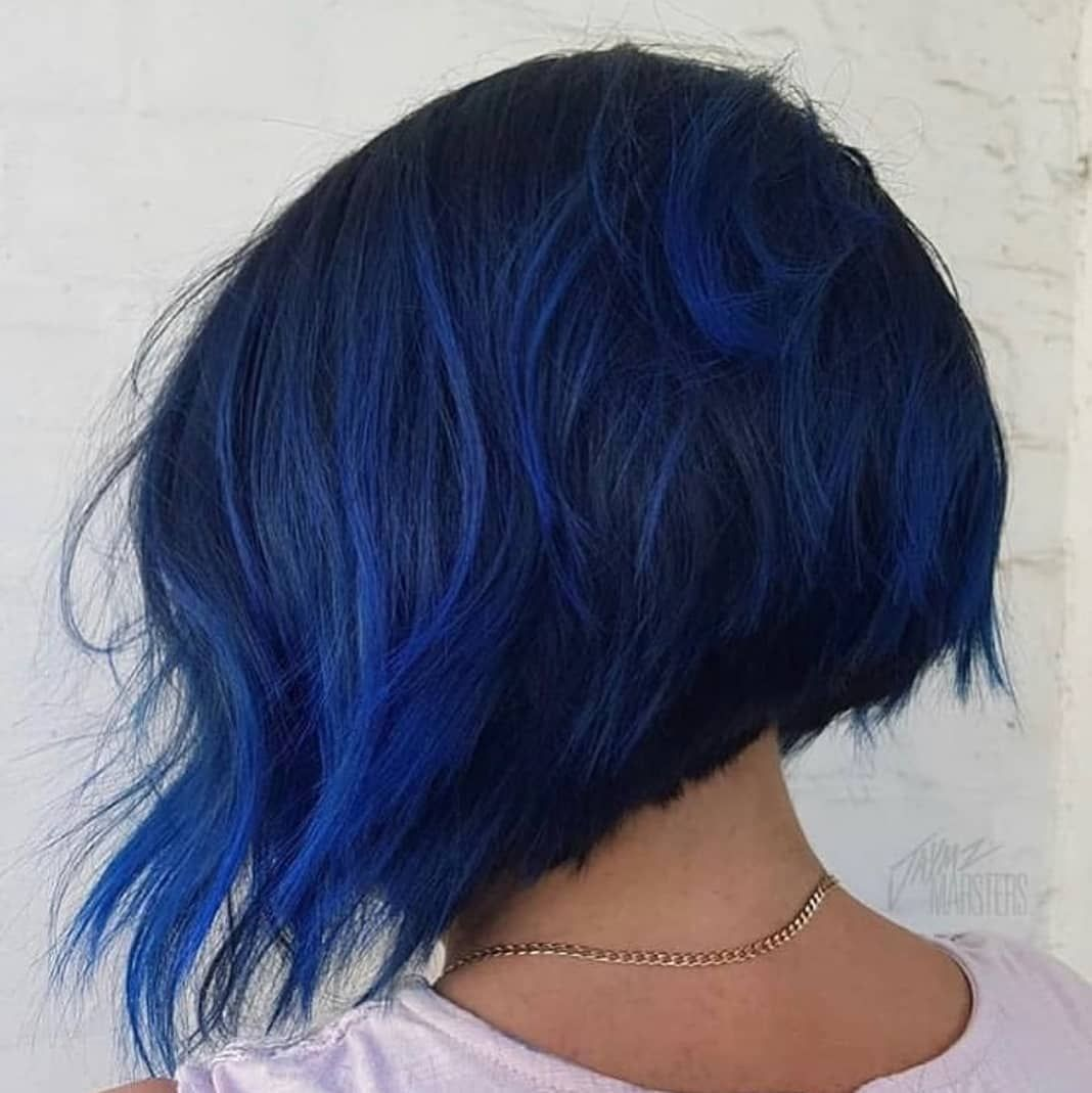 Manic Panic Italia On Instagram After Midnight Rockabilly Blue Grazie Manic Hair Color For Black Hair Fall Hair Color Trends Fall Hair Color For Brunettes