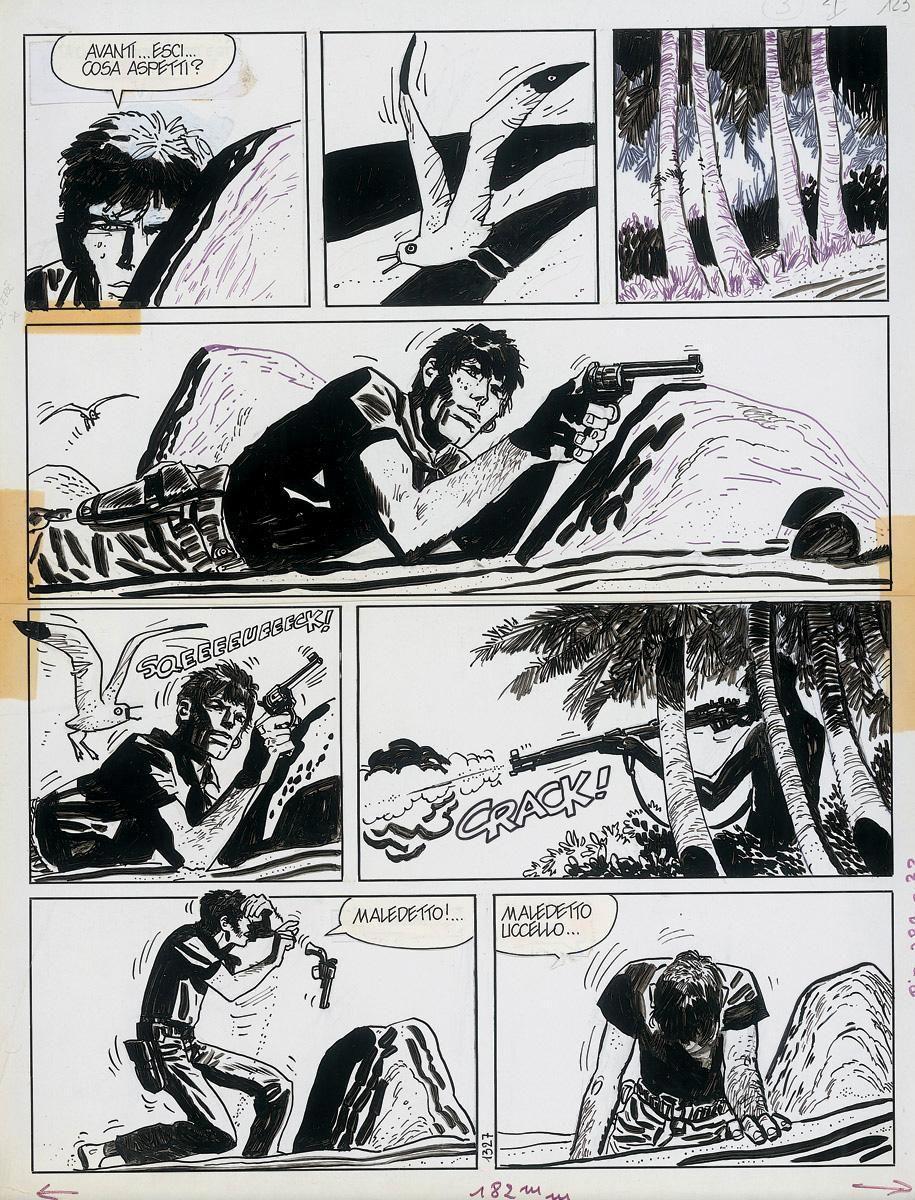 Tg3 - Tg3 Comics - Fumetto Corto Maltese