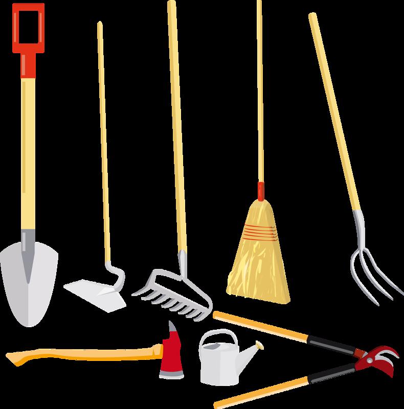 Инструменты для дворника в картинках