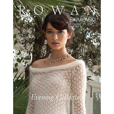 Buy Rowan Swarovski Evening Collection Knitting Pattern Book Zb188