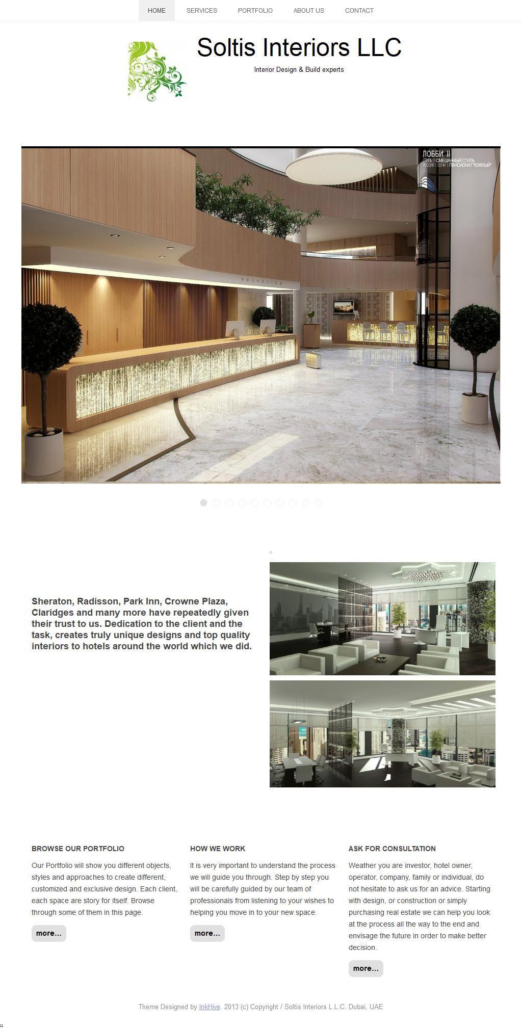 Soltis Interiors Llc D2 Tower 22 16 Street 8 Floor fice 803 Al