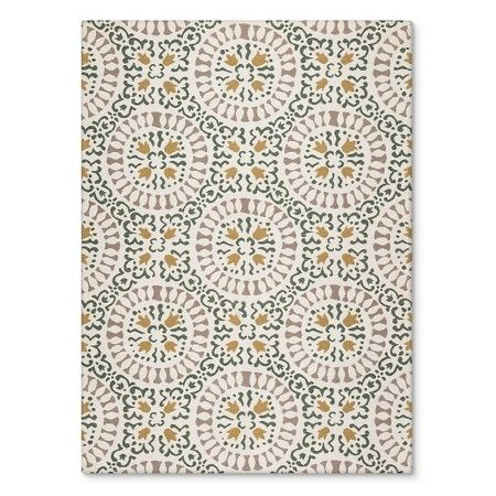 Indoor Outdoor Flatweave Medallion Rug Threshold Target