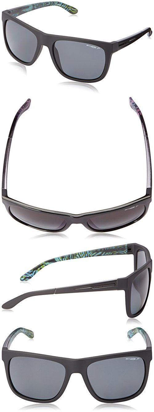cf58b1c288 Arnette Fire Drill AN4143-33 Polarized Rectangular Sunglasses