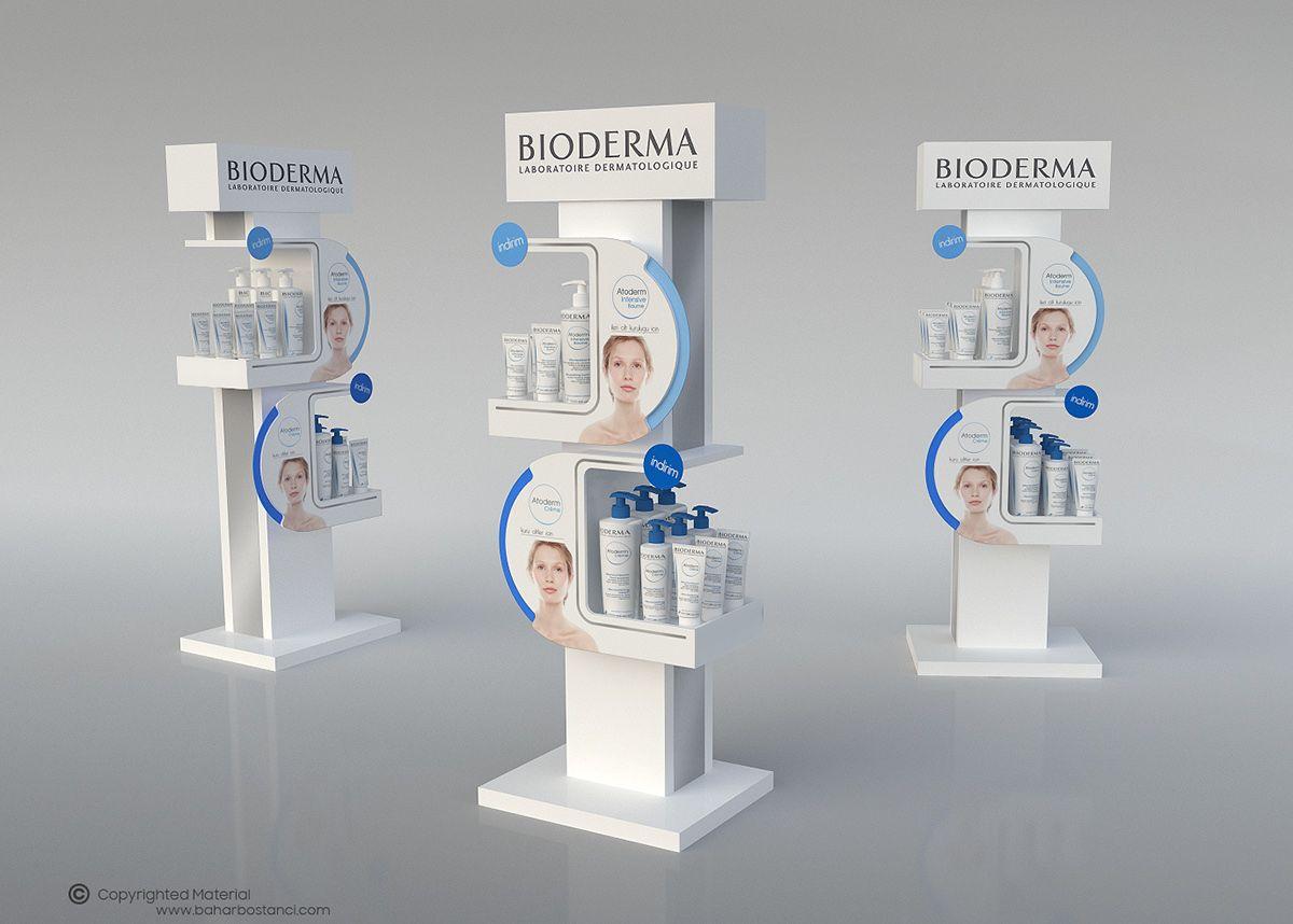 Posm design sofy posm design - Bioderma Atoderm Pop Display On Behance
