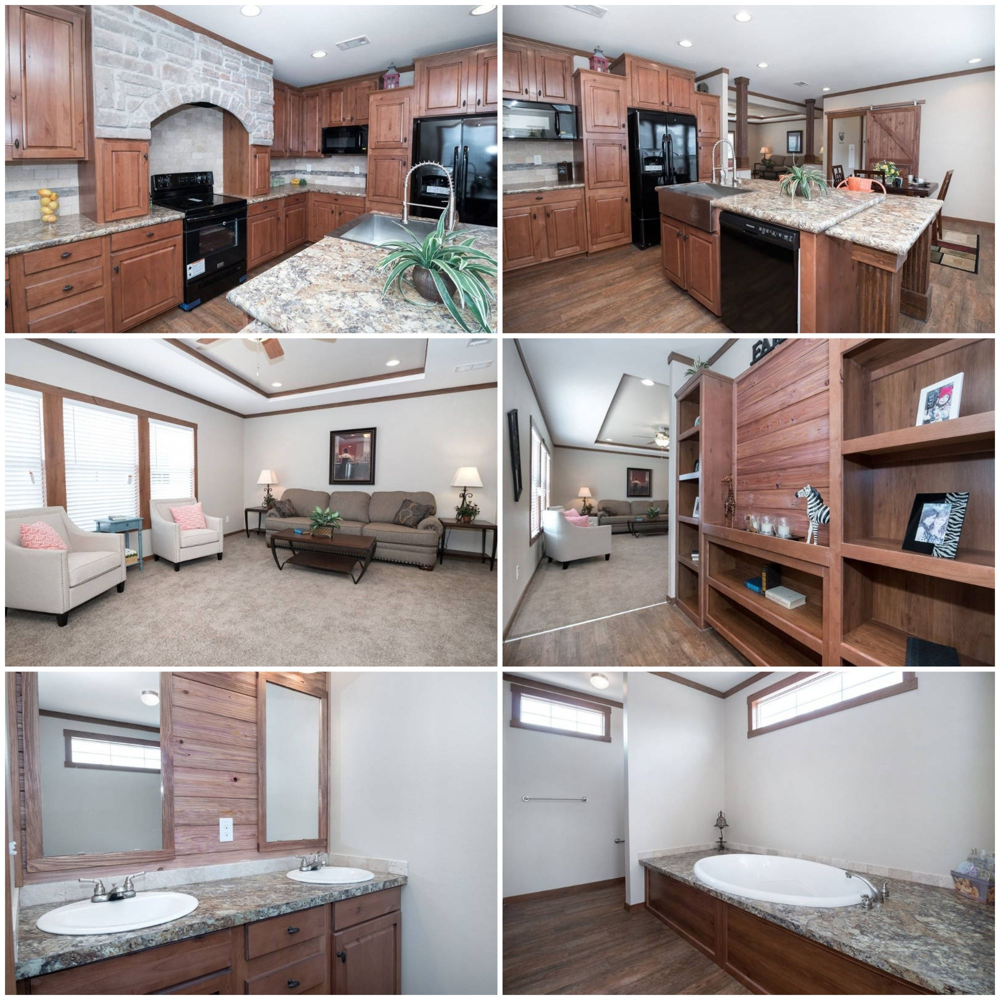3 Bed 2 Bath Clayton St Louis Remodeling Mobile Homes Modular Homes Home Bedroom bath double wide