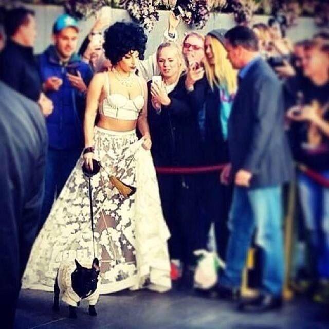 Lady Gaga in Sweden