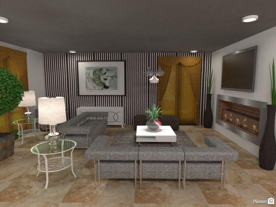 Living Room Interior Planner 5d