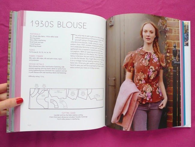 1930\'s blouse from the Great British sewing bee book   Sassy ...