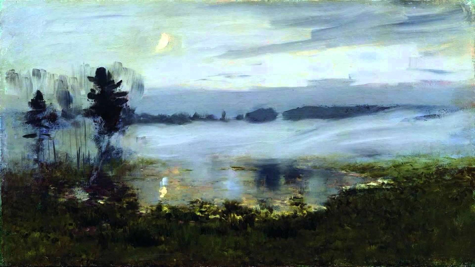 Picture Levitan Spring. High water or Edge, reminiscent of paradise 25