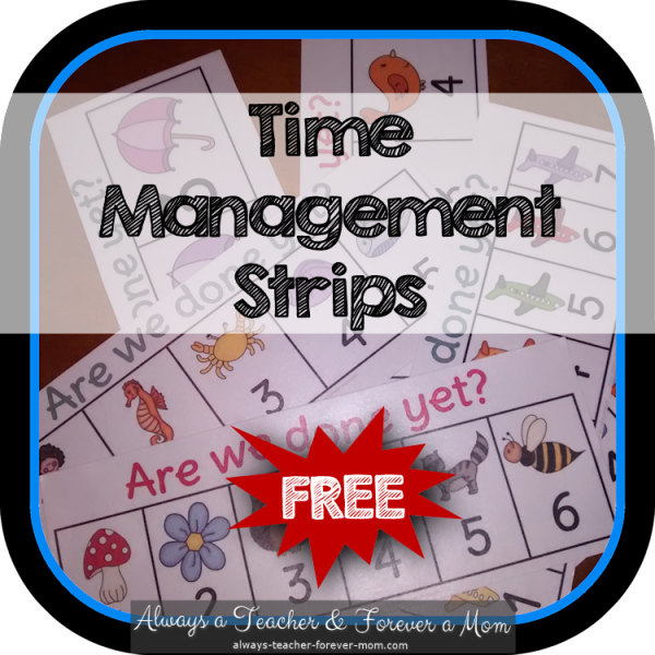 Are we done yet? - FREE time management interactive strips My newest blog post complete with a freebie!!! Enjoy and feel free to spread the word ;)