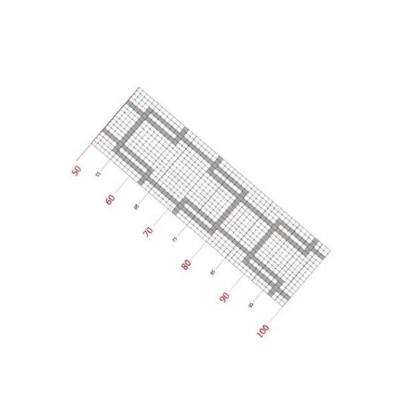 Loom bracelet pattern, loom pattern, odd count, stitch