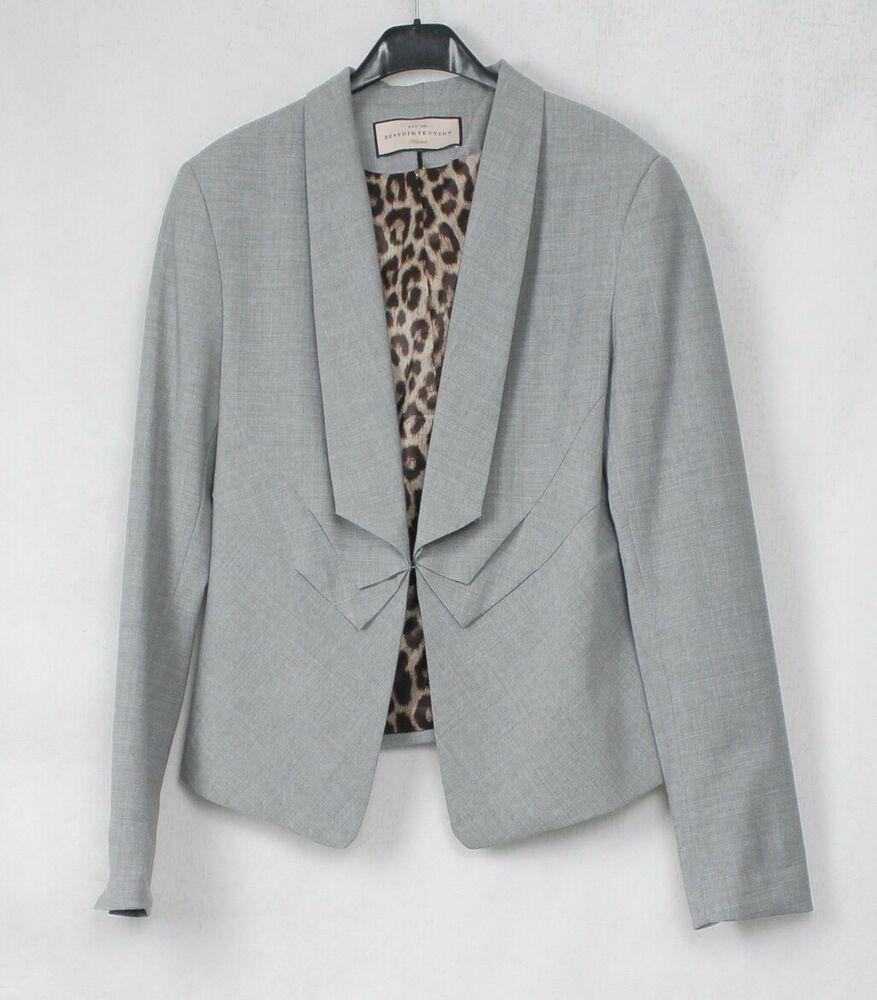 Only Damen Anzugjacke Damenblazer Sweat Blazer Anzugjacke Business Jacke