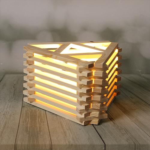 أباجورة بتصميم عصري مصنوعة من الخشب الطبيعي يجي معها لمبه ديكور ديكورات ابجوره لمبات Light Lighting Home Decorhome Decor Wallpaper Jenga Toys