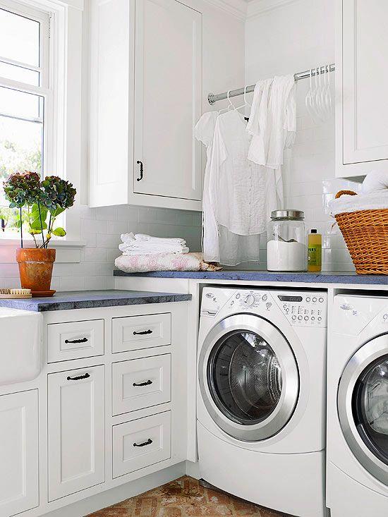 The L-Shape Laundry Room