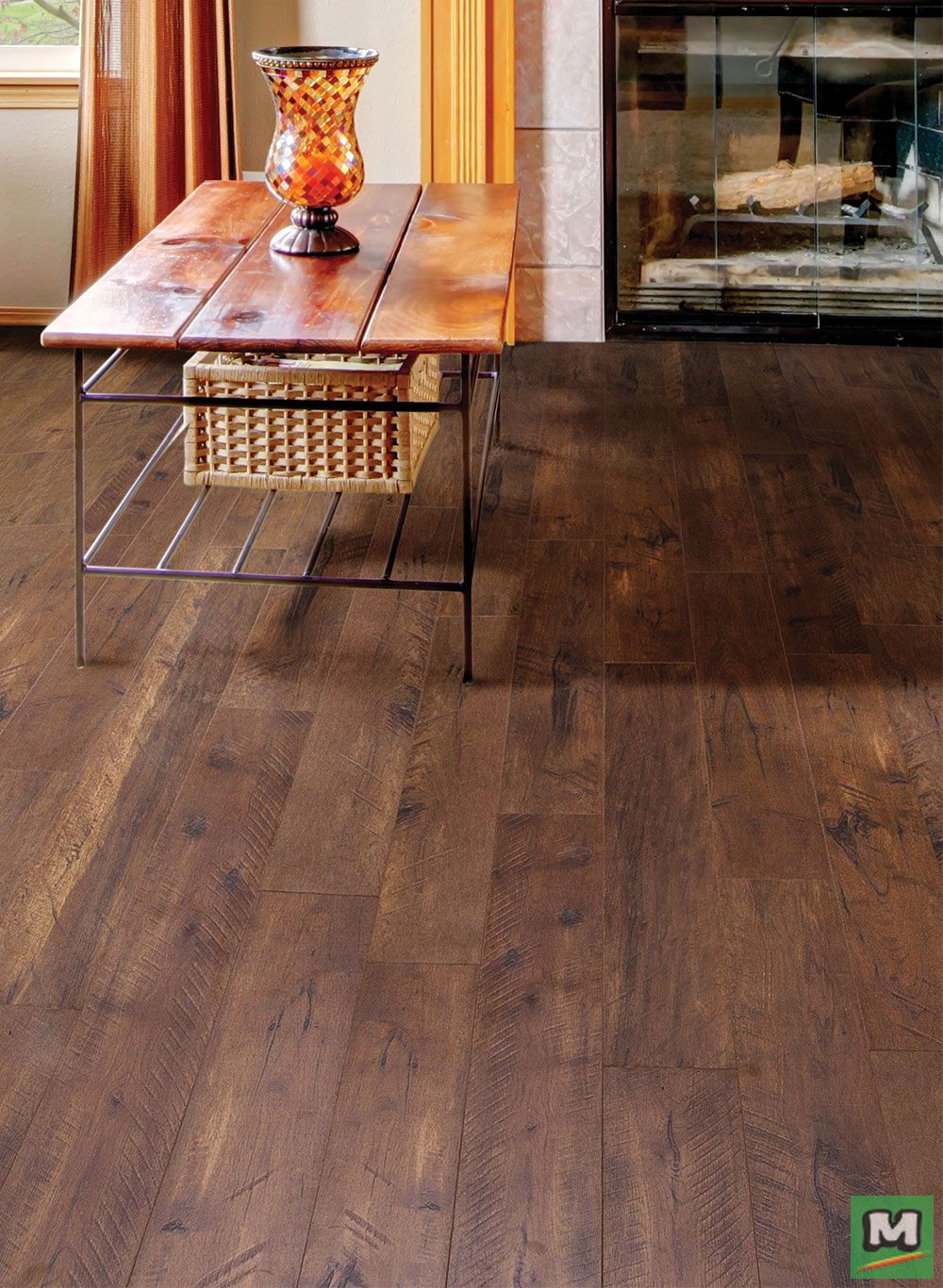 Get The Look Of Real Hardwood Flooring With No Glue And No Mess