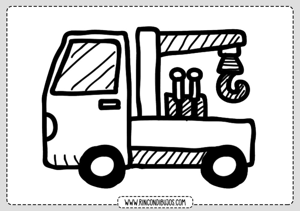 Dibujos De Camiones Rincon Dibujos Camion Dibujo Etiquetas De Frozen Dibujos