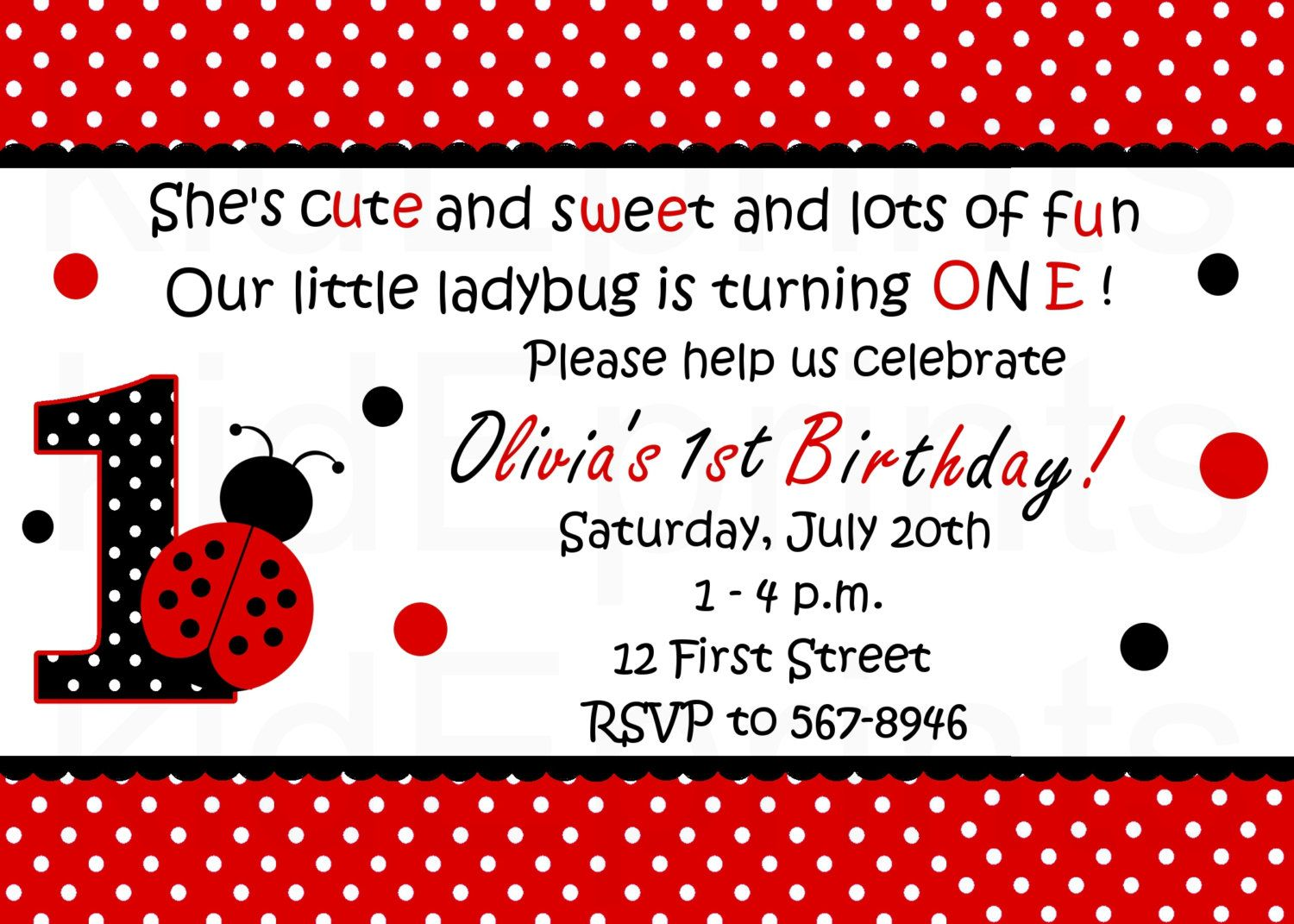 Printable ladybug invitation red ladybug birthday party printable ladybug invitation red ladybug birthday party invitations ladybug birthday invites ladybug photo invitations filmwisefo Choice Image
