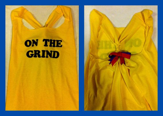 On the Grind Workout Tank Top by RufflesWithLove on Etsy, $14.50