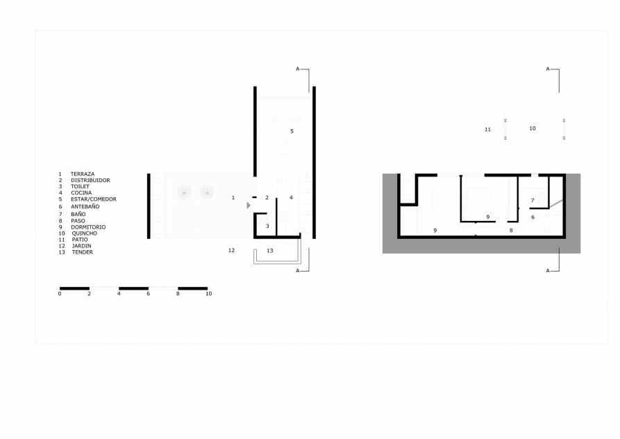 Los Miradores Architecture Plan How To Plan Modern Architecture
