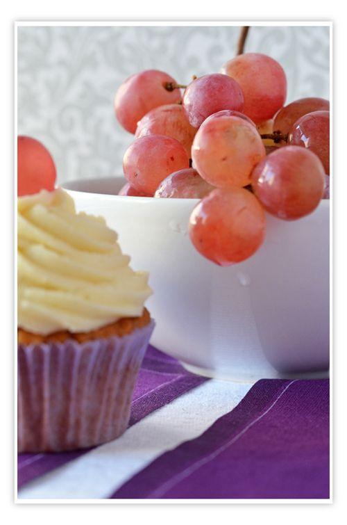 Cupcakes de uva