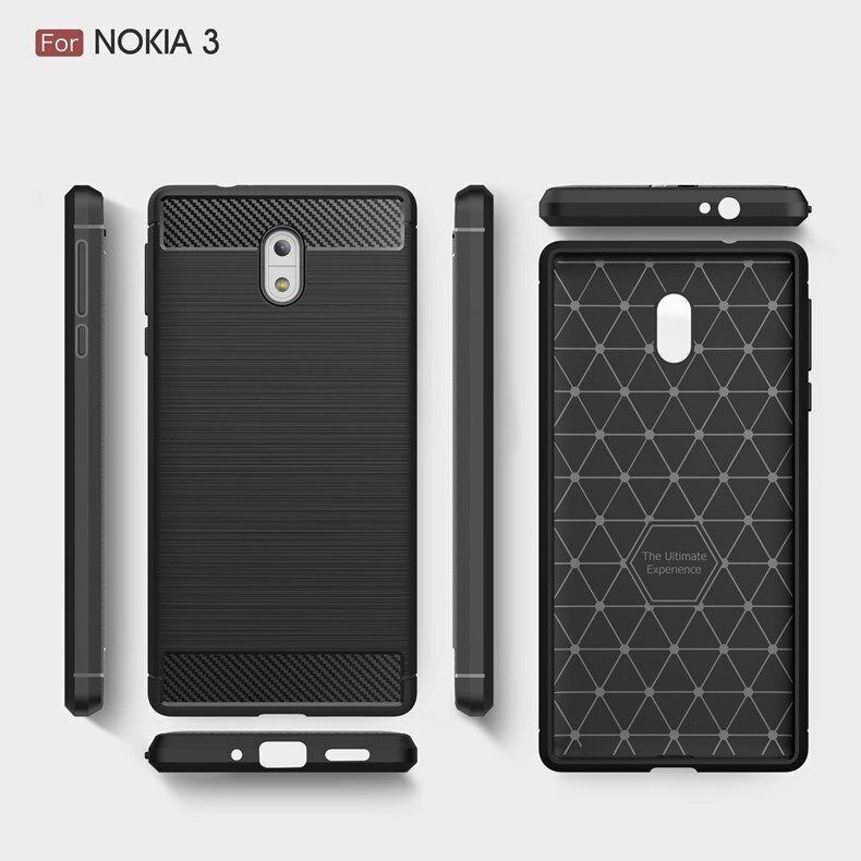super popular f5023 5b4f8 Luxury Hybrid Slim Armor Case for Nokia 3 Global Dual TA-1032 TA ...